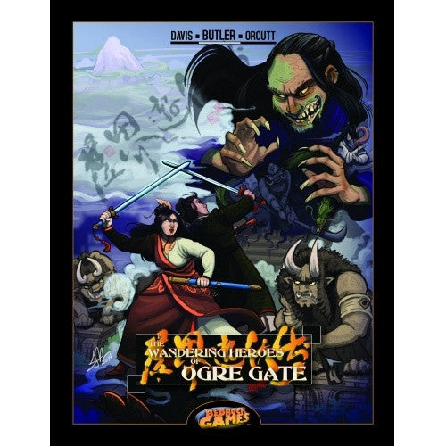 Buy The Wandering Heroes of Ogre Gate - Core Rulebook and more Great RPG Products at 401 Games