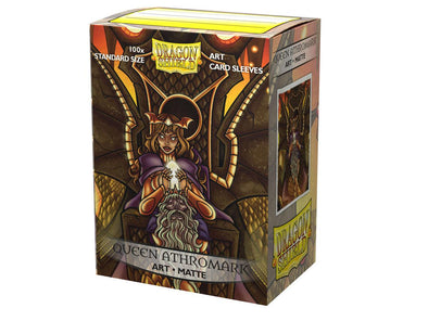 Dragon Shield - 100ct Standard Size - Art - Queen Athromark Matte - 401 Games