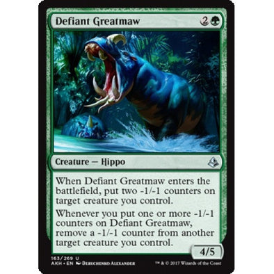 Defiant Greatmaw (AKH) available at 401 Games Canada