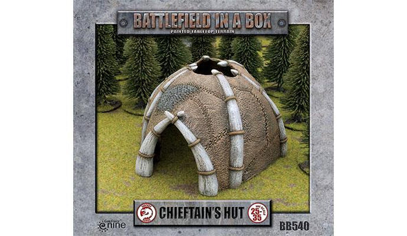 Battlefield in a Box - Chieftain's Hut - 401 Games