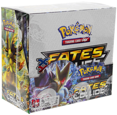 Buy Pokemon - Fates Collide Booster Box and more Great Pokemon Products at 401 Games