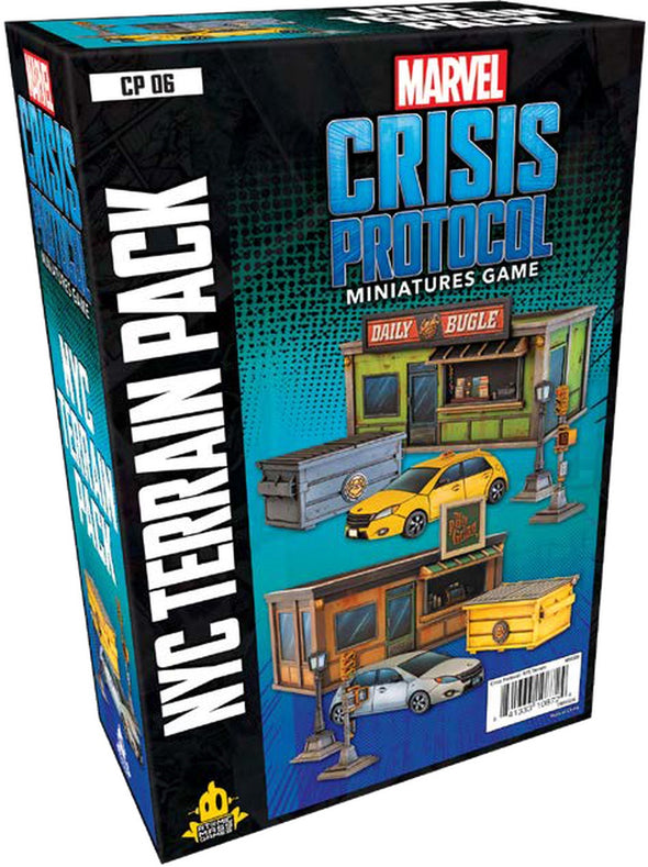 Marvel - Crisis Protocol - NYC Terrain Pack available at 401 Games Canada