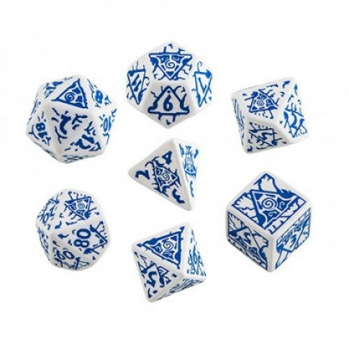 Dice Set - Q-Workshop - 7 Piece Set - Pathfinder - Reign of Winter - 401 Games