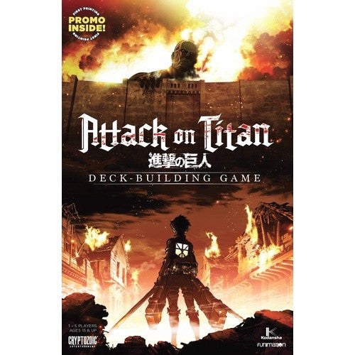 Buy Attack on Titan - Deck Building Game and more Great Board Games Products at 401 Games