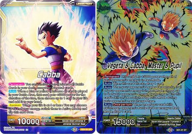 Cabba | Vegeta & Cabba, Master & Pupil (FOIL) available at 401 Games Canada
