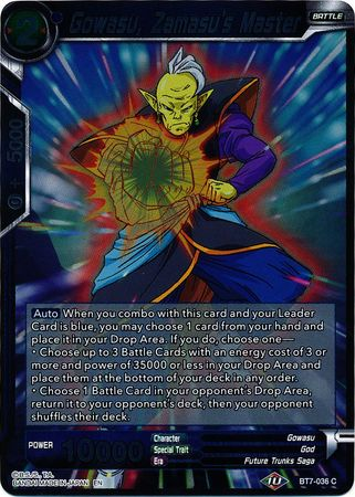 Gowasu, Zamasu's Master (FOIL) available at 401 Games Canada