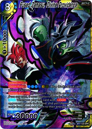 Fused Zamasu, Divine Providence (SPR) available at 401 Games Canada
