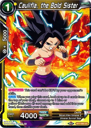 Caulifla, the Bold Sister available at 401 Games Canada