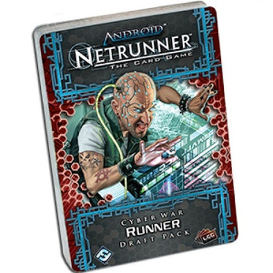 Android: Netrunner LCG - Cyber War Runner Draft Pack (No Restock) - 401 Games