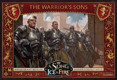 A Song of Ice and Fire - Tabletop Miniatures Game - House Lannister - Warrior's Sons - 401 Games