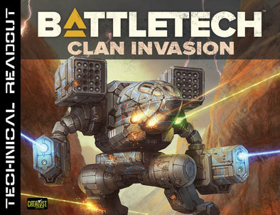 Battletech - Technical Readout: Clan Invasion available at 401 Games Canada