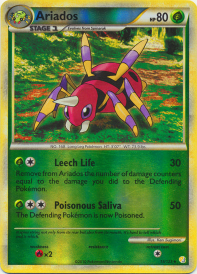 Buy Ariados - 15/123 and more Great Pokemon Products at 401 Games