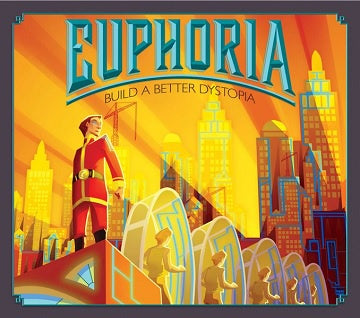 Euphoria - Build a Better Dystopia with Game Trayz (Pre-Order)
