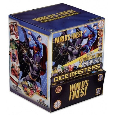 Buy Dice Masters - DC World's Finest - Gravity Feed Booster Box 90CT and more Great Dice Masters Products at 401 Games