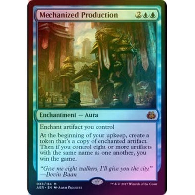 Mechanized Production (Foil) (AER) available at 401 Games Canada