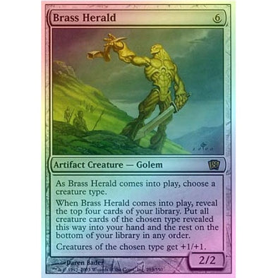 Brass Herald (Foil) available at 401 Games Canada