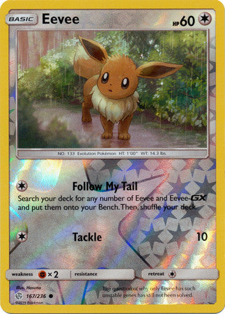 Eevee - 167/236 - Reverse Foil available at 401 Games Canada