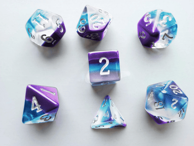 Little Dragon - Birthstone Dice - Pearl (June)