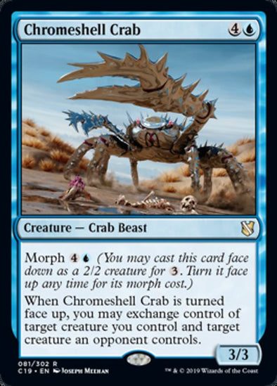 Chromeshell Crab (C19)