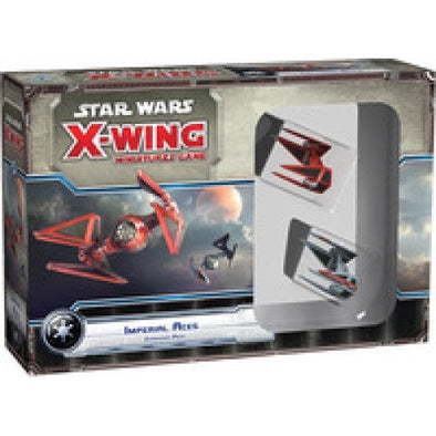 Buy X-Wing - Star Wars Miniature Game - Imperial Aces and more Great Board Games Products at 401 Games