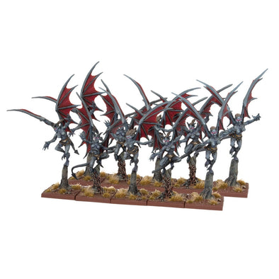 Kings of War - Abyssal Dwarfs - Gargoyles Troop