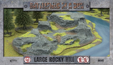 Battlefield in a Box - Large Rocky Hill available at 401 Games Canada