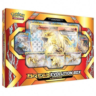 Buy Pokemon - BREAK Evolution Box Arcanine and more Great Pokemon Products at 401 Games