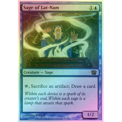 Sage of Lat-Nam (Foil) - 401 Games