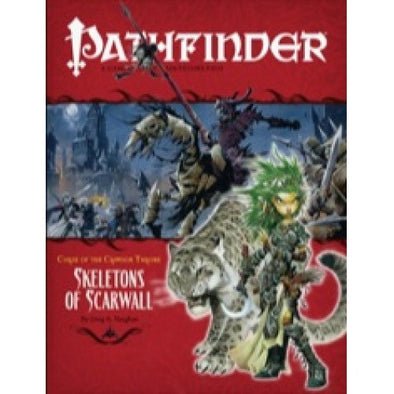 Pathfinder - Adventure Path - #11: Skeletons of Scarwall (Curse of the Crimson Throne 5 of 6) - 401 Games