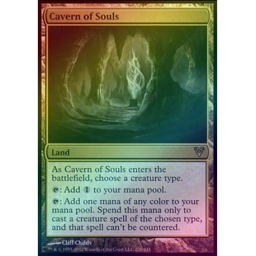 Cavern of Souls (Foil) (AVR) available at 401 Games Canada