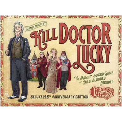 Buy Kill Doctor Lucky Deluxe 19.5th Anniversary Edition and more Great Board Games Products at 401 Games