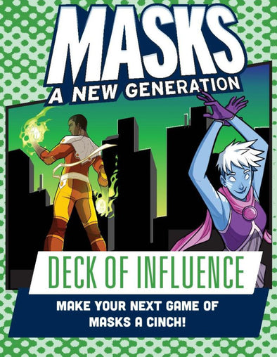 Buy Apocalypse - Masks: A New Generation - Deck of Influence and more Great RPG Products at 401 Games