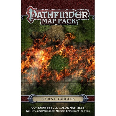 Buy Pathfinder - Map Pack - Forest Dangers and more Great RPG Products at 401 Games