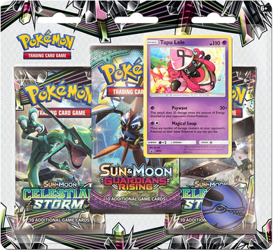 Buy Pokemon - Celestial Storm 3 Pack Blister Pack - Tapu Lele and more Great Pokemon Products at 401 Games