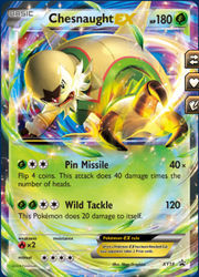 Buy Chesnaught-EX - XY18 and more Great Pokemon Products at 401 Games