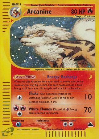 Buy Arcanine - H2/H32 and more Great Pokemon Products at 401 Games