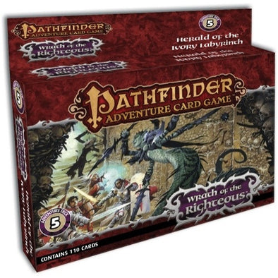 Pathfinder Adventure Card Game - Wrath of the Righteous - Deck 5 - Herald of the Ivory Labyrinth - 401 Games