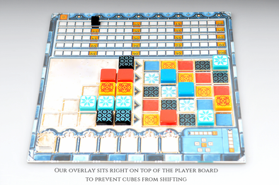Buy Meeple Realty - Azul - Overlay and more Great Inserts and Overlays Products at 401 Games