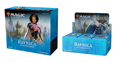Buy MTG - Ravnica Allegiance - Combo #1 - Booster Box & Bundle and more Great Magic: The Gathering Products at 401 Games