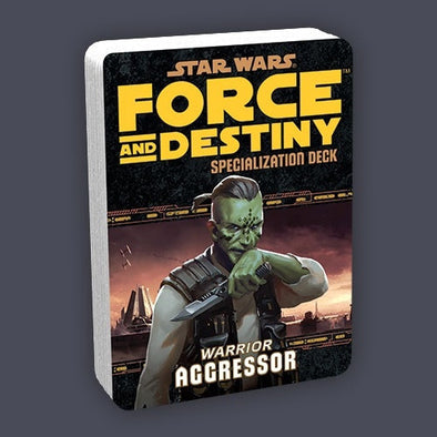 Star Wars: Force and Destiny Deck - Aggressor - 401 Games
