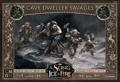 A Song of Ice and Fire - Tabletop Miniatures Game - Free Folk - Cave Dweller Savages - 401 Games