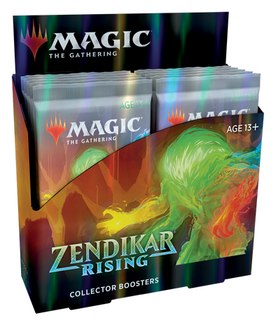MTG - Zendikar Rising - Collector Booster Box available at 401 Games Canada