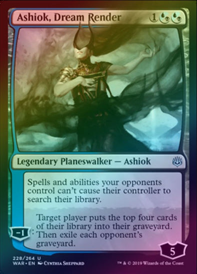 Ashiok, Dream Render (Foil) (WAR)