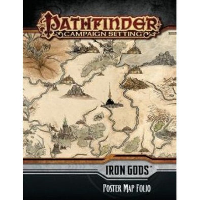 Pathfinder - Campaign Setting - Iron Gods Poster Map Folio - 401 Games