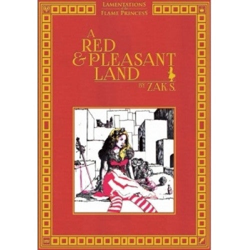 Lamentations of the Flame Princess - A Red & Pleasant Land available at 401 Games Canada