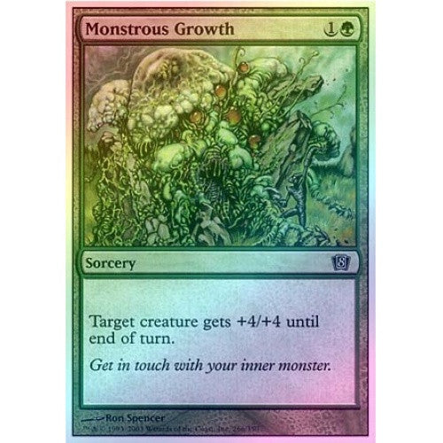Monstrous Growth (Foil) - 401 Games