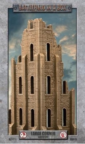 Battlefield in a Box - Sandstone - Large Corner available at 401 Games Canada