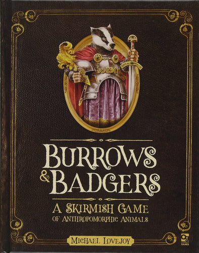 Burrows & Badgers - A Skirmish Game of Anthromorphic Animals available at 401 Games Canada