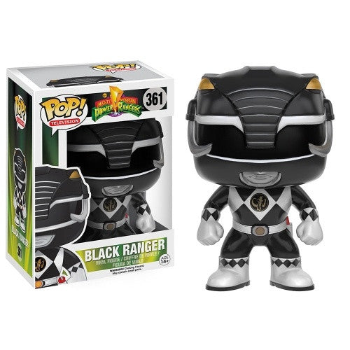 Pop! MM Power Rangers - Black Ranger - 401 Games
