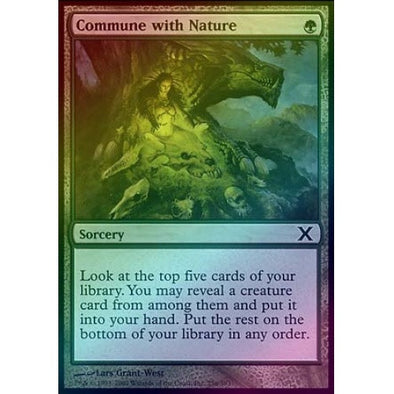 Commune with Nature (Foil) available at 401 Games Canada